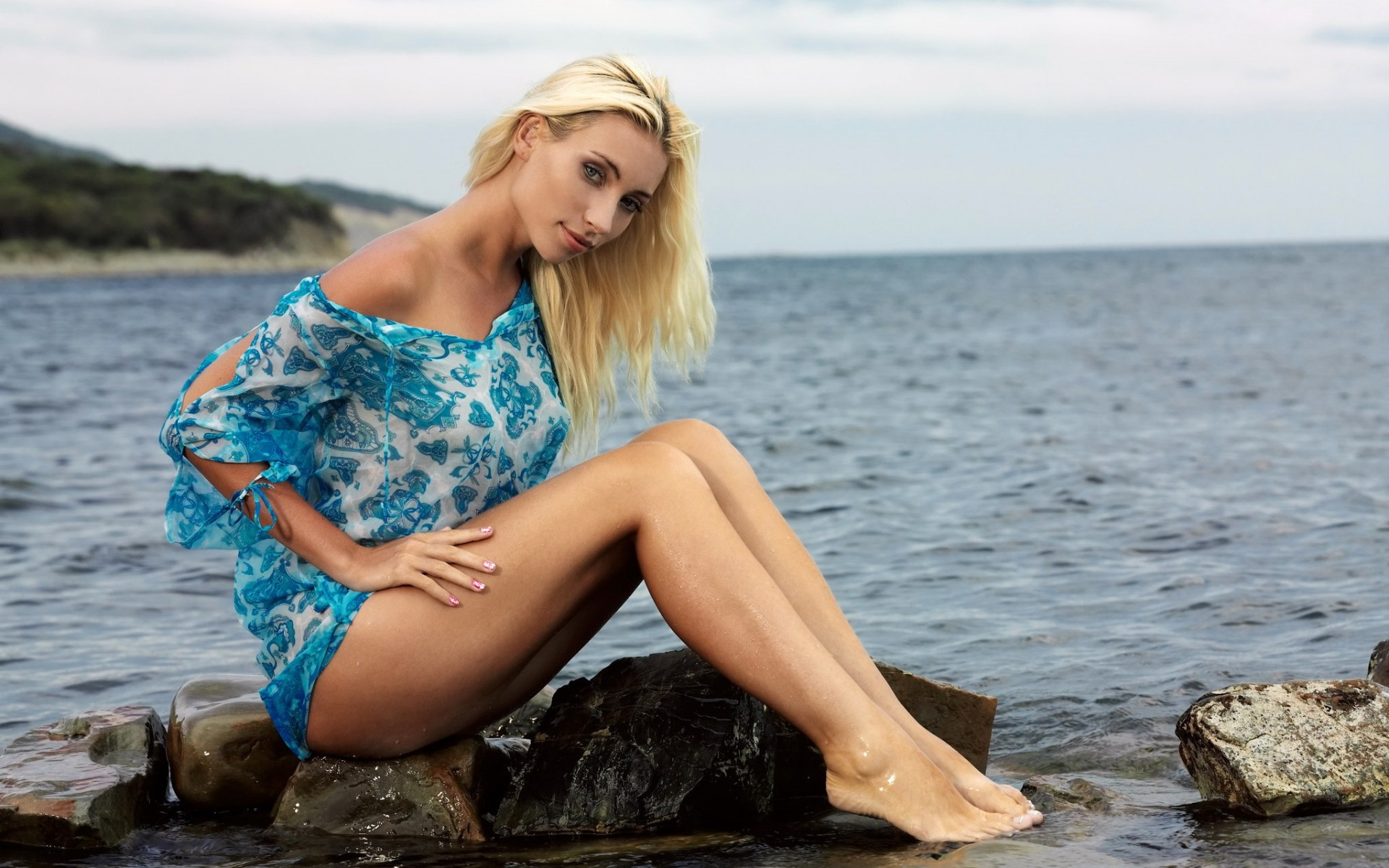 Фото ног блондинок фото 393-981